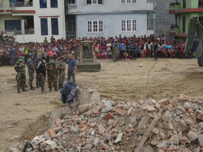Indian Army rescue operations continue in Nepal