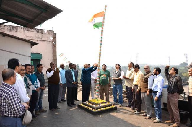 Republic Day celebrations at PIB
