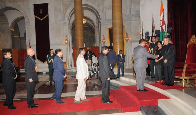 Prez meets delegates to the Sixth Annual Heads of Mission Conference