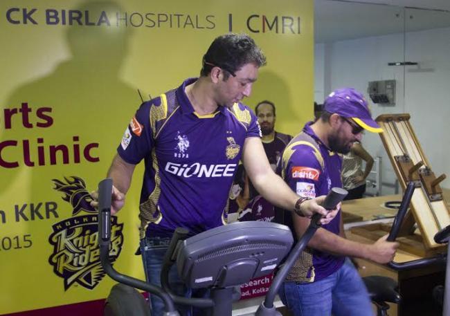 KKR players inaugurate sports medicine facility in Kolkata's CMRI