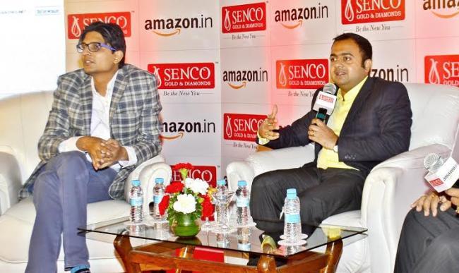 Senco Gold & diamonds announces tie-up with Amazon.in