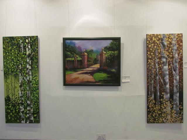 Tavolozza art boutique unveils art show in association with ALL