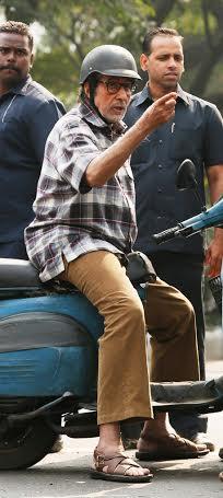 Big B shoots in Kolkata