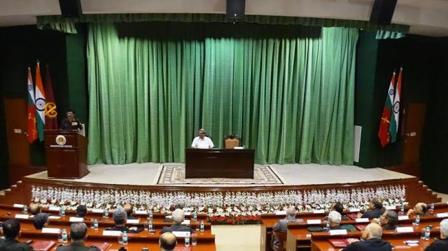 Defence Minister addresses Bi Annual Army Commanders' Conference