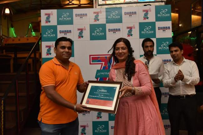 """DLF Place celebrated its 7th anniversary with """"Spread the Warmth"""" campaign"""