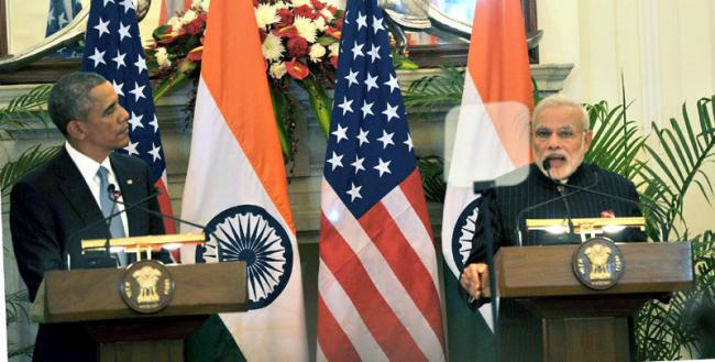 US President Barack Obama in India