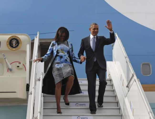 Barack Obama & First Lady Michelle Obama