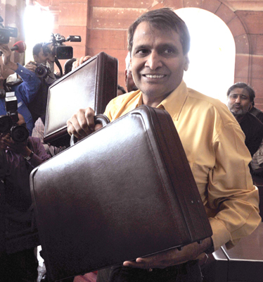 Suresh Prabhu presents Railway Budget