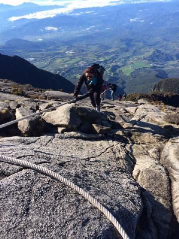 Huma Qureshi scales Malaysia's highest peak Mount Kinabalu
