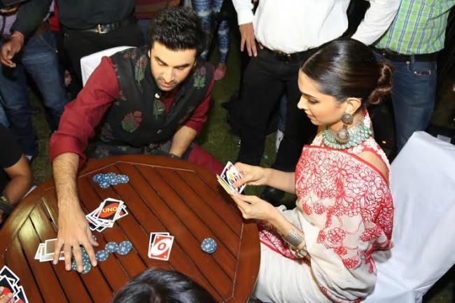 Ranbir-Deepika celebrated Diwali in Delhi together