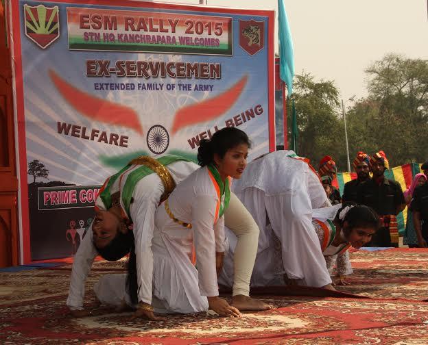 Kolkata hosts mega-servicemen rally