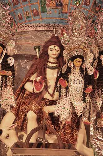Durga Puja celebrations at Lahabari