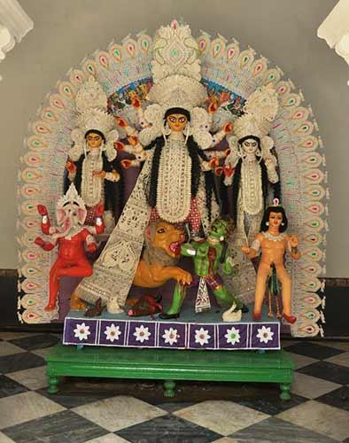 Durga Puja celebrations at Rani Rashmoni's house