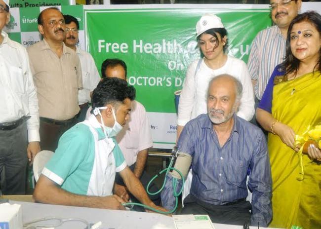 Kolkata: Fortis celebrates Doctor's Day