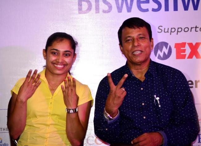 BCCI felicitates Olympian Deepa Karmaker