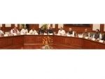 Narendra Modi meeting the major Opposition parties and NDA leaders