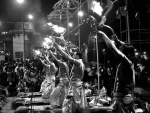 The aura of Ganga Aarti at Varanasi