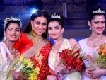 Sharad Sundari 2016: Ahiri Biswas wins the beauty pageant organised by Shyam Sundar Co. Jewellers