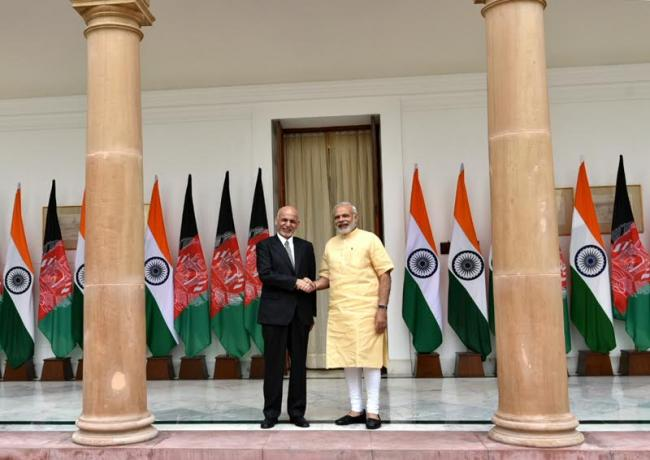 Afghan President: second visit to India