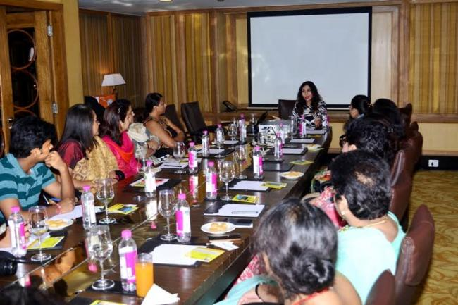 Fitness expert Namita Jain launches animated movie on dining etiquette