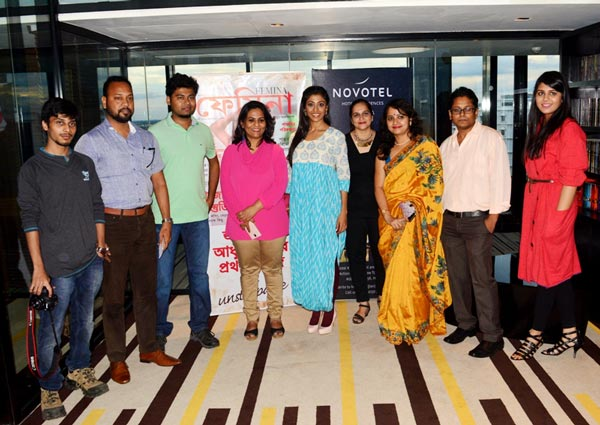 Paoli Dam flaunts her new look in Femina Bangla
