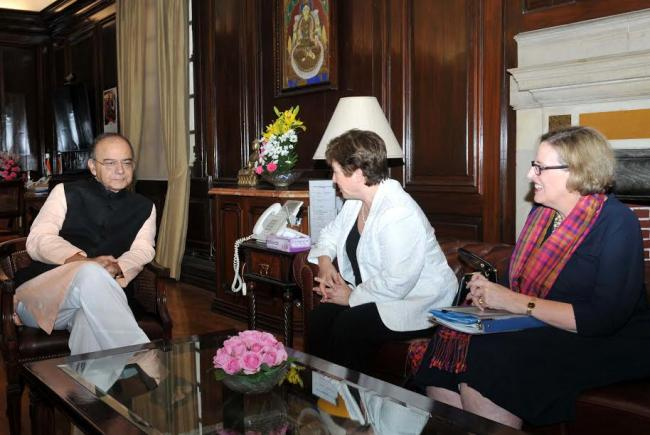 The Chief Executive Officer (CEO) of the World Bank to India