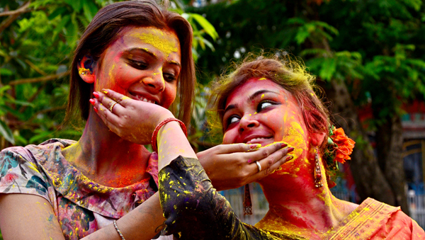 India celebrates the festival of colour