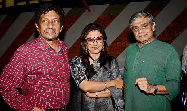 Aparna Sen launches poster of upcoming movie Sonata