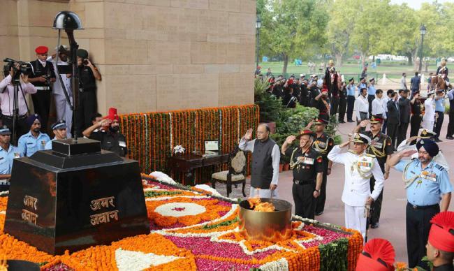 Homage paid to Kargil martyrs