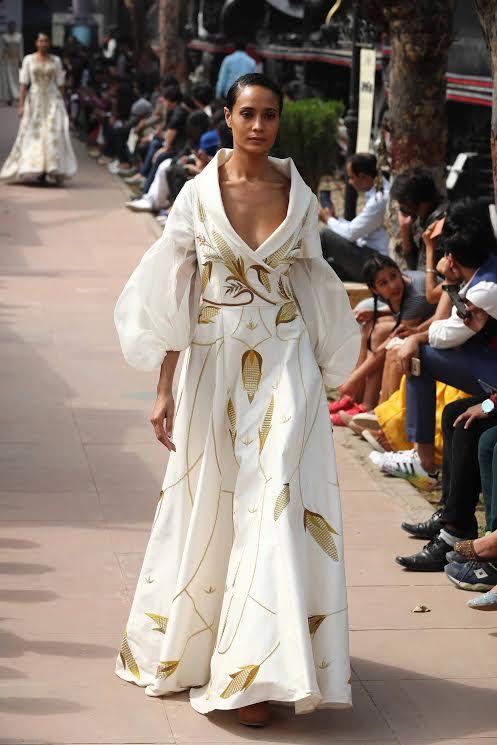 Designer Samant Chauhan showcases collection at Amazon Fashion Week