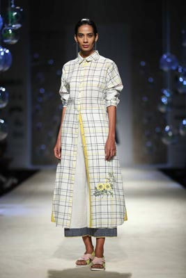 Payal Pratap showcases her collection at Amazon India Fashion Week