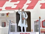 Narendra Modi departs for four nation visit to Germany, Spain, Russia and France