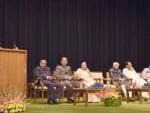 Narendra Modi addressing at the farewell function of the Vice President,M. Hamid Ansari
