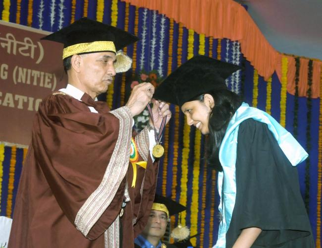 Satya Pal addressing 23rd Convocation of NITIE in Mumbai