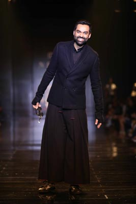 Rajesh Pratap Singh's collection catches attention at Amazon India Fashion Week