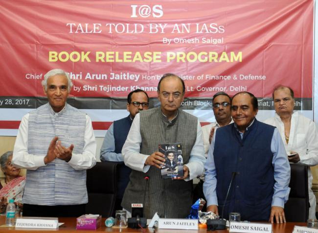 Arun Jaitley releases book by former senior IAS