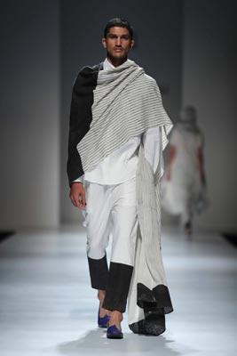 Amazon India Fashion Week: Designer Abraham & Thakore showcase collection