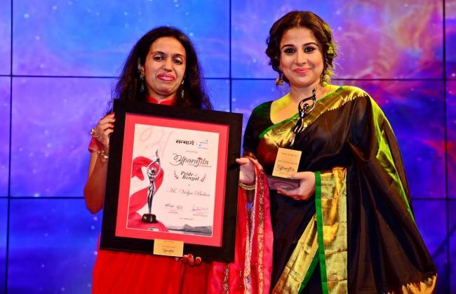 Kolkata: Vidya Balan and Girja Devi awarded