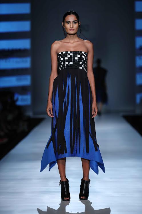 Amazon India Fashion Week Day 2: Designer Pankaj & Nidhi showcase collection