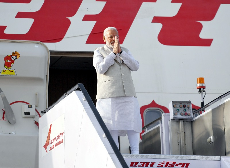 Modi visits Russia