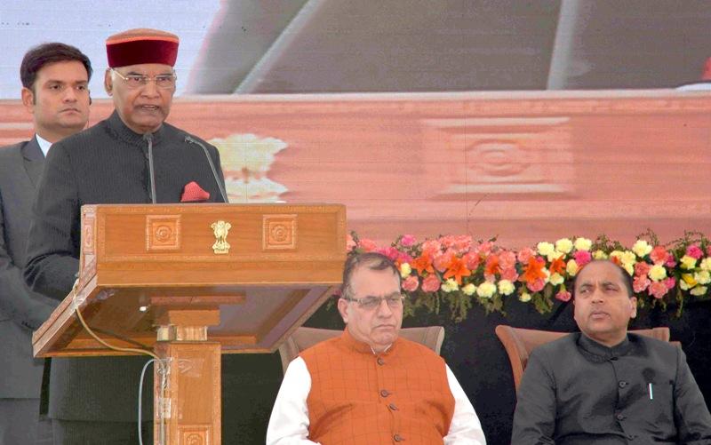 President Kovind addresses gathering in Himachal Pradesh