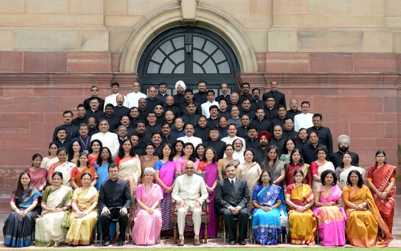 Kovind meets State Civil Service Officers promoted to the IAS