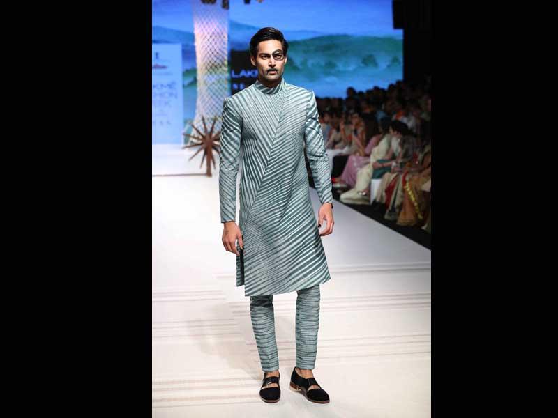 Designer Khadi Show at Lakme Fashion Week 2018