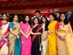 Sourav Ganguly spends time with family on Saraswati Puja