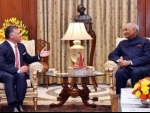 The King of Jordan calls on President Ram Nath Kovind,VP M. Venkaiah Naidu