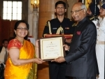 President Ram Nath Kovind Presents the Nari Shakti Puruskar