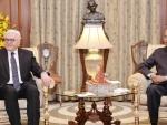 President of the Germany, Frank Walter Steinmeier calls on President Ram Nath Kovind