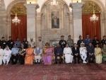 President Kovind, VP Naidu, PM Modi attend Defend Investiture Ceremony