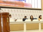 Ram Nath Kovind Attends the 34th Annual Session of FICCI Ladies Organisation