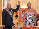 Ram Nath Kovind calls on the King of Swaziland